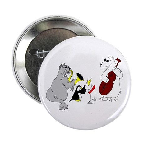"""Animal Jazz Band 2.25"""" Button (10 pack)"""