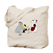 Animal Jazz Band Tote Bag