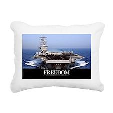US Navy Poster: USS Dwig Rectangular Canvas Pillow