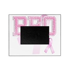 BEO initials, Pink Ribbon, Picture Frame