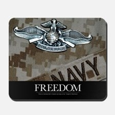 US Navy Poster : The Fleet Marine Force  Mousepad