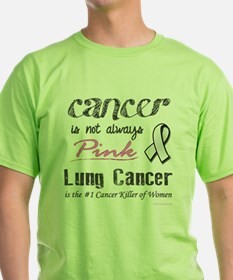 Cancer is Not Always Pink! T-Shirt