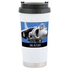 Air Force Poster: An AV-8B Harr Travel Mug