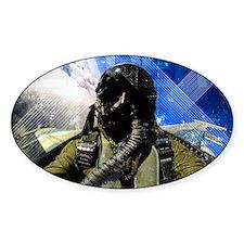 Air Force Grunge Poster: Leaders. U Decal
