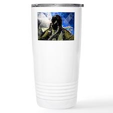 Air Force Grunge Poster: Leader Travel Mug