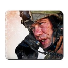 Air Force Grunge Poster: Loyalty. U.S. A Mousepad