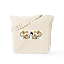 Unique Ying yang Tote Bag