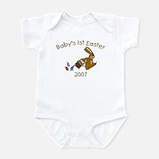 Baby's 1st Easter (Hopping Bu Infant Bodysuit