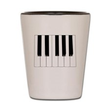 Keyboard Keys Shot Glass