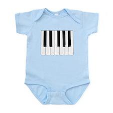 Keyboard Keys Body Suit