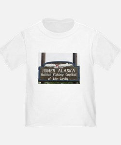 Homer Alaska Sign T-Shirt