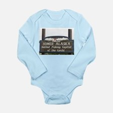 Homer Alaska Sign Body Suit