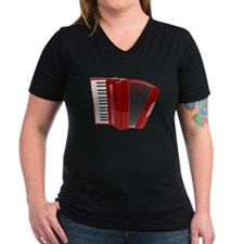 Red Accordian T-Shirt