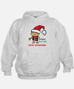 Customize Baby's First Christmas Hoodie