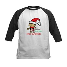 Customize Baby's First Christmas Tee