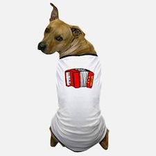 Cartoon Accordian Dog T-Shirt
