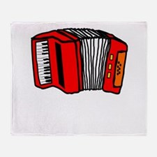 Cartoon Accordian Throw Blanket