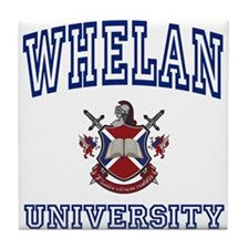 WHELAN University Tile Coaster