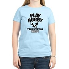 rugby cheaper than therapy T-Shirt