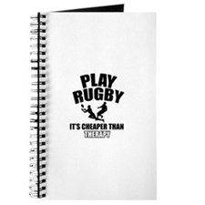 rugby cheaper than therapy Journal