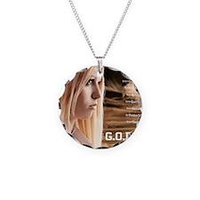 Lydia Landscape GODTECH Post Necklace