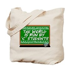"The World Is Run By ""C"" Students Book Bag"