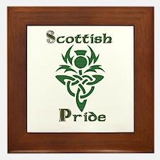 Scottish Pride Framed Tile