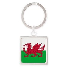 Welsh Flag Of Wales Keychains