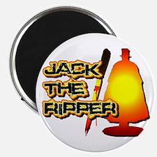 Jack the Ripper in Orange Magnet