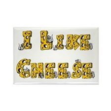 I like Cheese Rectangle Magnet