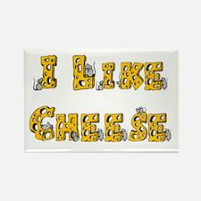 I like Cheese Rectangle Magnet