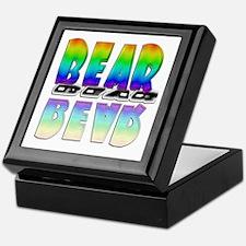 BEAR-RAINBOW/MIRROR Keepsake Box