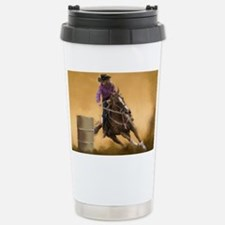Barrel Racing Stainless Steel Travel Mug