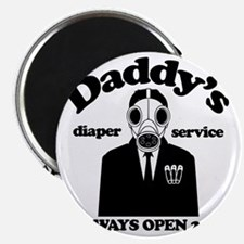 Daddys Diaper Service Magnet