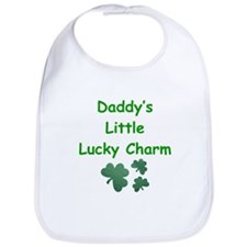 Daddy's Little Lucky Charm Bib