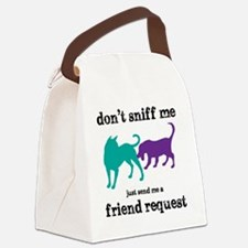 Dont sniff me Canvas Lunch Bag
