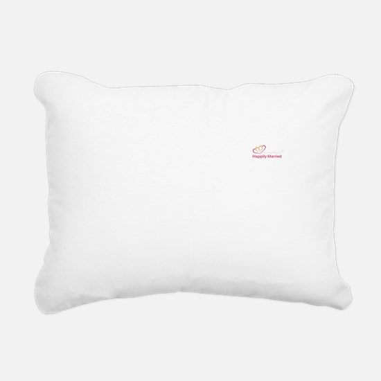 She said yes! Rectangular Canvas Pillow
