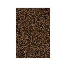 saddle leather vert Rectangle Magnet