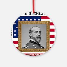 George G. Meade - Gettysburg Round Ornament