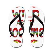 Wild About Cooking Flip Flops