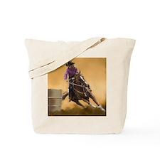 barrel racing pillow Tote Bag