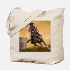 barrel racing pillow Tote Bag