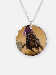 barrel racing pillow Necklace
