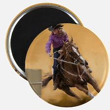 barrel racing pillow Magnet