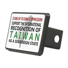 Stand Up To Chinas Oppress Hitch Cover