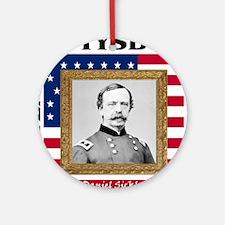 Daniel Sickles - Gettysburg Round Ornament