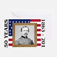 Daniel Sickles - Gettysburg Greeting Card