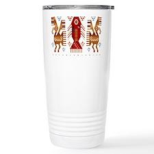Chimu Fish and Birds Travel Mug