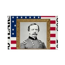 Daniel Sickles - Gettysburg Rectangle Magnet