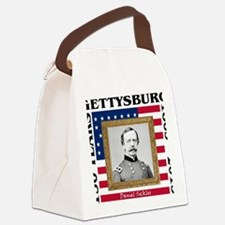 Daniel Sickles - Gettysburg Canvas Lunch Bag